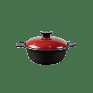 Supreme Round Casseroles # 7 [Red]