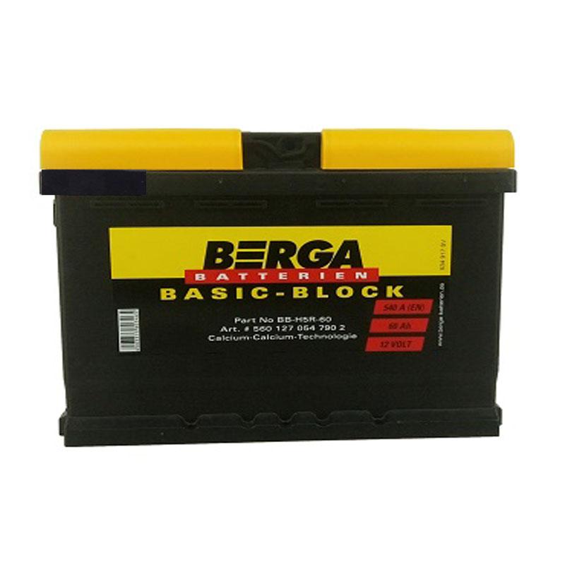 60AH 540EN BASIC-BLOCK BERGA