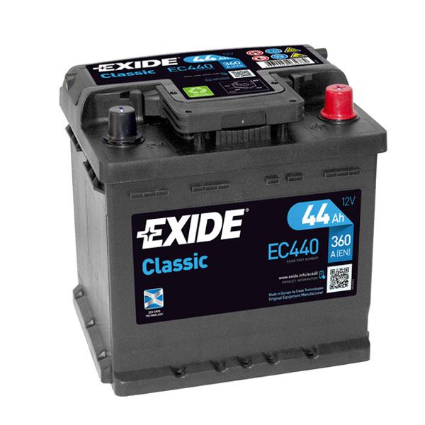 44AH EXIDE CLASSIC