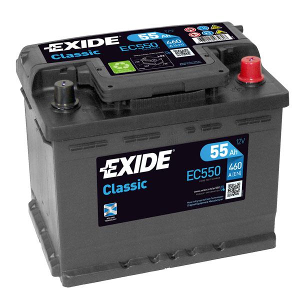 55AH EXIDE CLASSIC
