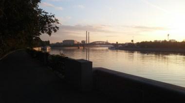 A View back towards Kievskaya Station