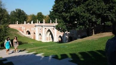 The bridge to the Palace @Tsaritsyno