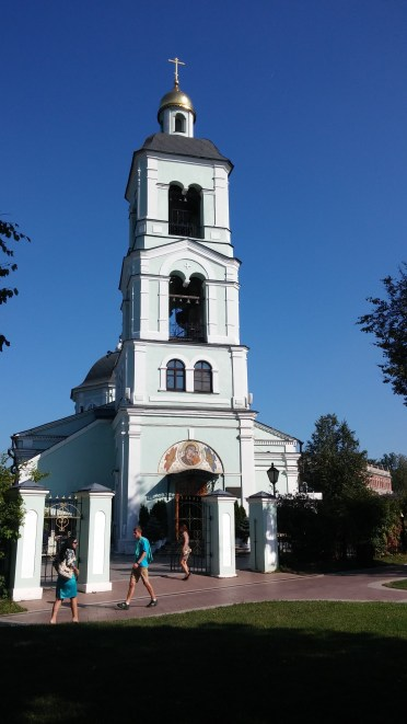The Church @Tsaritsyno, near a spring, the oldest in Moscow (site, not building)