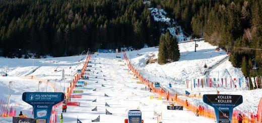 Сноубордная трасса в Австрии
