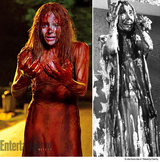 "Carrie"" Remake: Check out Very Bloody Prom Dress!! 