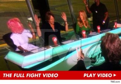 #SRU's American Idol's drama w/Mariah & Nicki