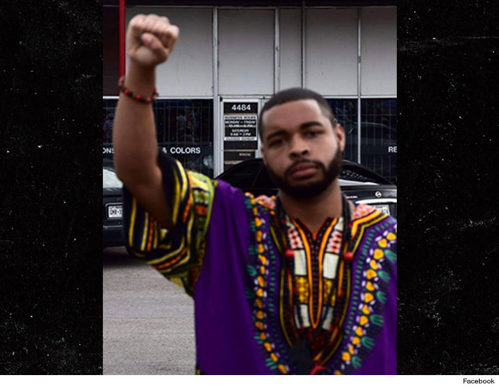 Image result for Micah X. Johnson Facebook page