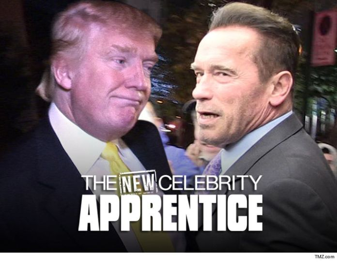 Image result for donald trump and arnold schwarzenegger