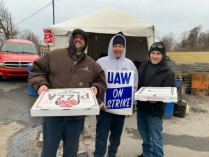Local IAM members supporting our local UAW brothers and sisters on strike