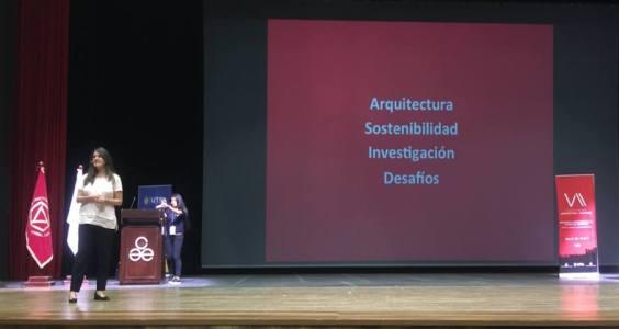 Ponencia en el VII Congreso Binacional de Arquitectura y Urbanismo
