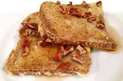 Broke single mom fitness recipes - breakfast - baked french toast