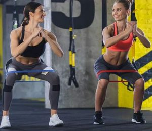 Booty exercise bands