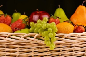 whole foods and fruit - lose weight without exercise