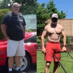 Lyndon Hepner lost weight over 50 years old