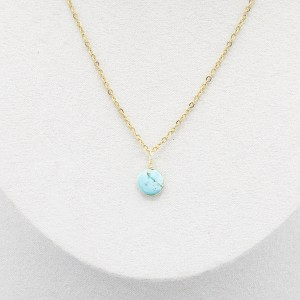 Collier Turquoise - 3