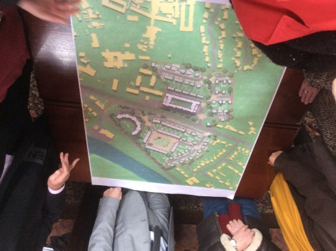 Taylor Wimpey's draft plan for the BBC Llandaf site