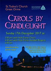 Carols by Candlelight poster.