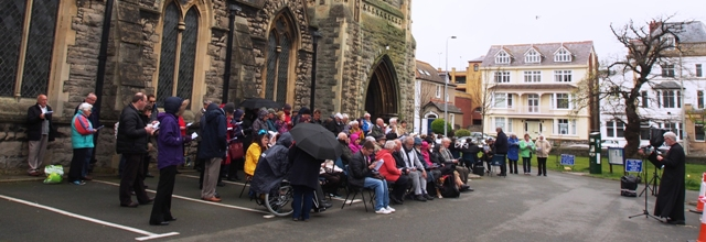 Open air service for Good Friday