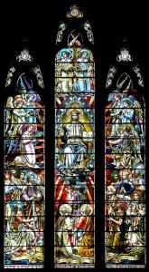 Christ in Majesty window