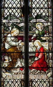 Martha and Mary window