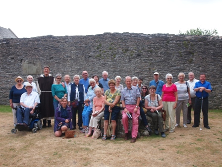 Pilgrimage to Valle Crucis Abbey