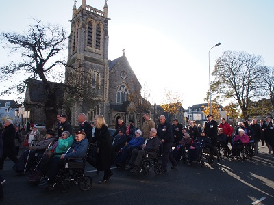 Remembrance Sunday parade