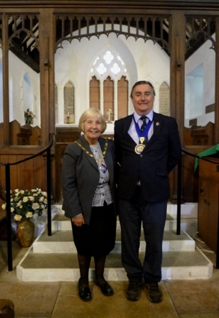 Mayor and Mayoress at St. Tudno's