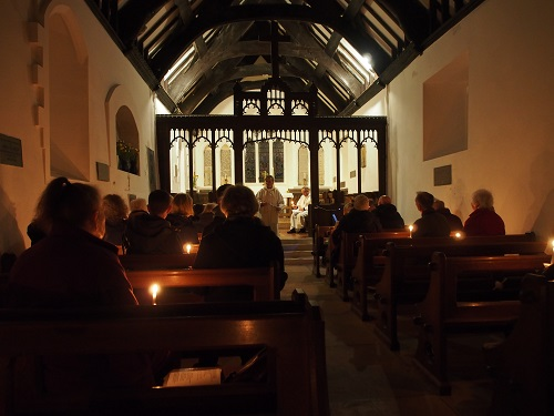 Easter Vigil at St. Tudno's Church