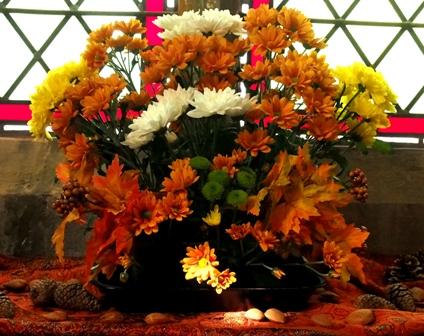Harvest Festival flowers