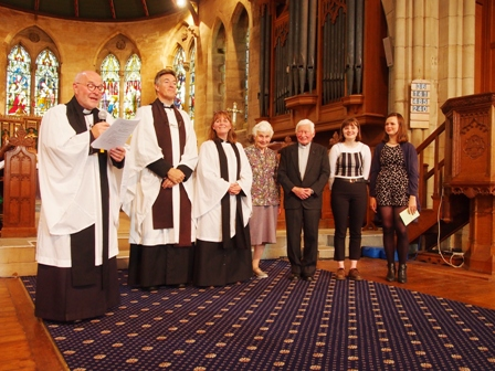 Welcoming our new clergy and family