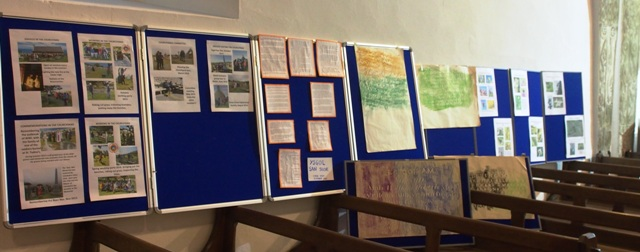 Open Day displays