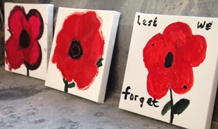 Poppies paintings.
