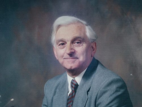 R. I. Denis Jones J.P., Ph D., M.A., Headmaster Grammar School 1973-1977,Graig Comprehensive 1977-1990