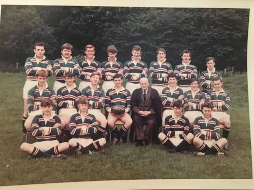 School 2nd XV Rugby Team 1965-66