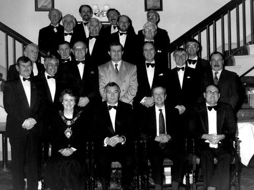 ASSOCIATION ANNUAL DINNER, 1994?,STEPNEY HOTEL