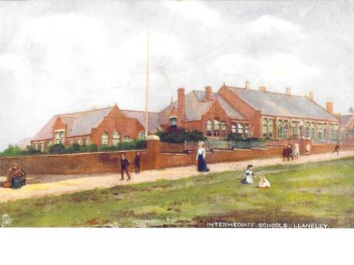 The beginnings of Grammar School Education in Llanelli & District,1896,