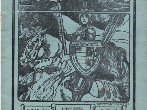 1948 Mid-Summer,  Llanelly Boys' Grammar School Magazine, Headmaster T V Shaw M.A.