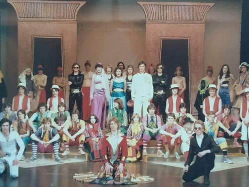 """1979,School Plays/Performances. """"Joseph And The Amazing Technicolor Dreamcoat"""", performed Easter, Entertainment Centre"""