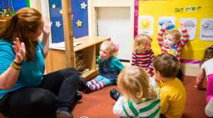 Opportunity for 100 people to take a step towards working with young children