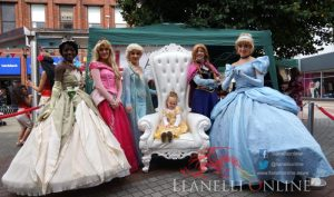 Pirates and Princesses land at Llanelli