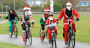 Santa Ride boosts funds for RNLI