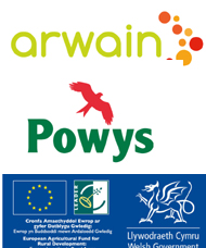 We are funded by the EU Arwain leader programme