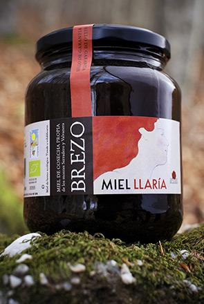 miel de brezo ecologica llaria