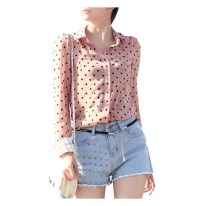 camisa-feminina-estampa-poa-tendencia-outono-inverno
