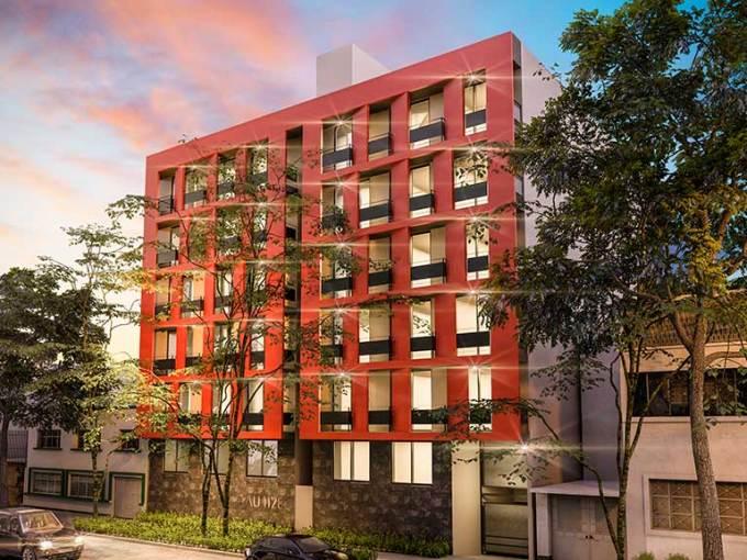Departamento CDMX Fachada-5-Angel-Urraza-1128