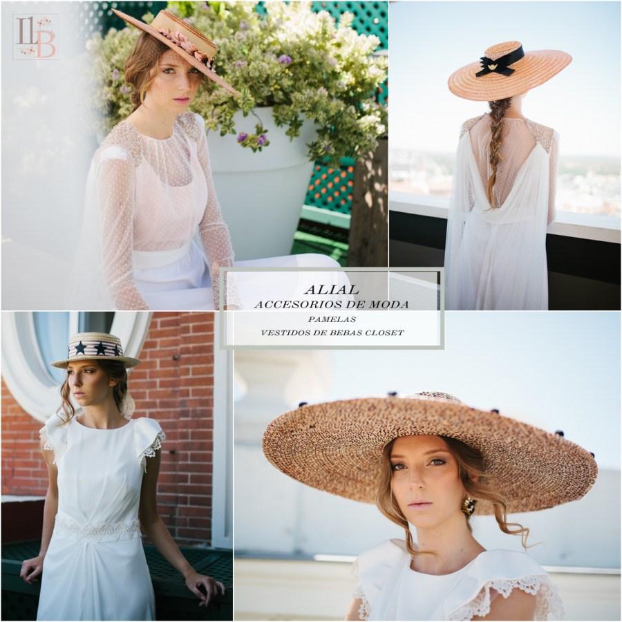 Pamelas de Alial con vestidos Bebas Closet. Post en Llega mi Boda