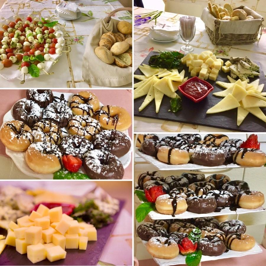 Detalles decorativos en las mesas del comedor de Villanueva CU. Catering de Aramark que ofrece su servicio en la cafetería de Villanueva CU