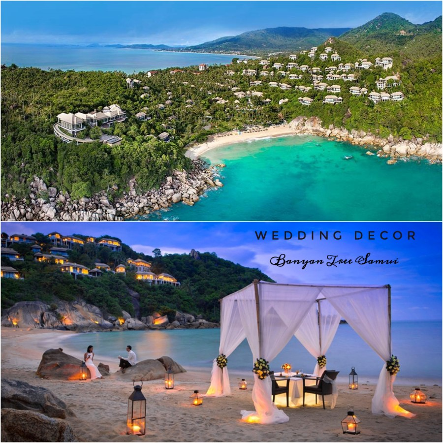 Banyan Tree Samui. Tailandia romántica: Viaje Wedding Planner. Post en Llega mi Boda. Viaje luna miel a Tailandia, Destination Wedding a Tailandia. Boda en Tailandia.