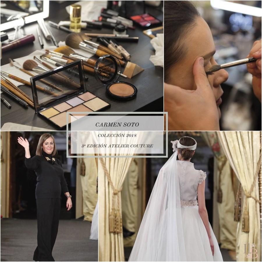 Desfile Atelier Couture 2017- Carmen Soto The Bride. Post en Llega mi Boda