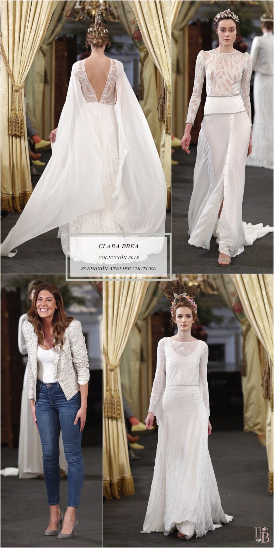 """Desfile Atelier Couture 2017- Clara Brea: Colección """"Enigma"""". Post en Llega mi Boda."""